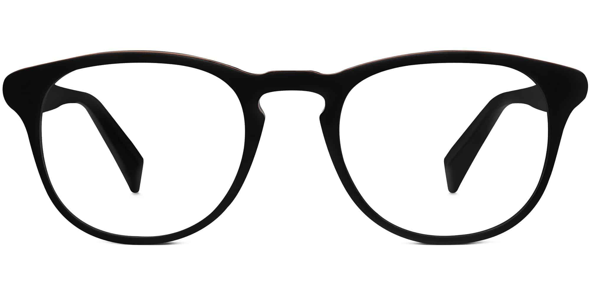 Baker m Eyeglasses in Black Matte Eclipse