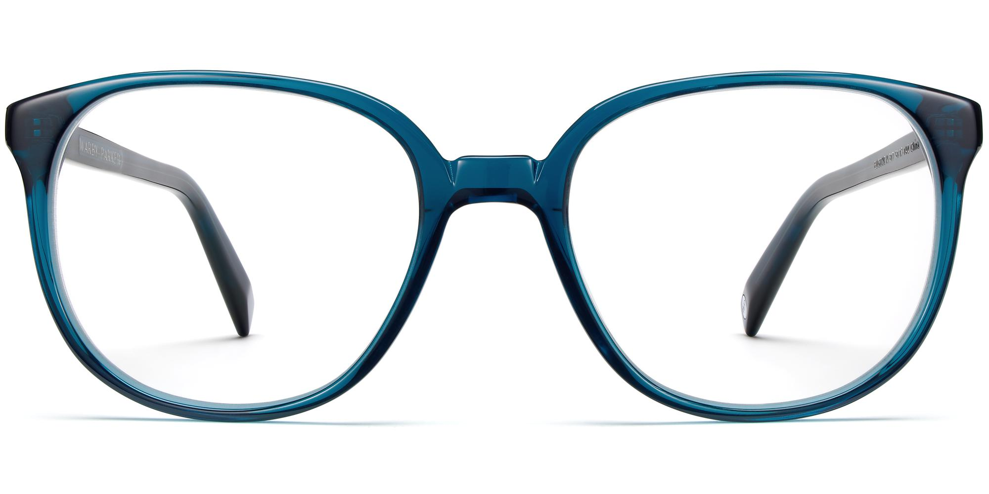 Front View Image of Eugene Eyeglasses Collection, by Warby Parker Brand, in Adriatic Crystal Color