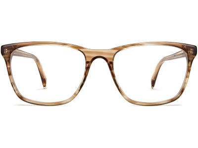 Front View Image of Yardley Eyeglasses Collection, by Warby Parker Brand, in Chestnut Crystal Color