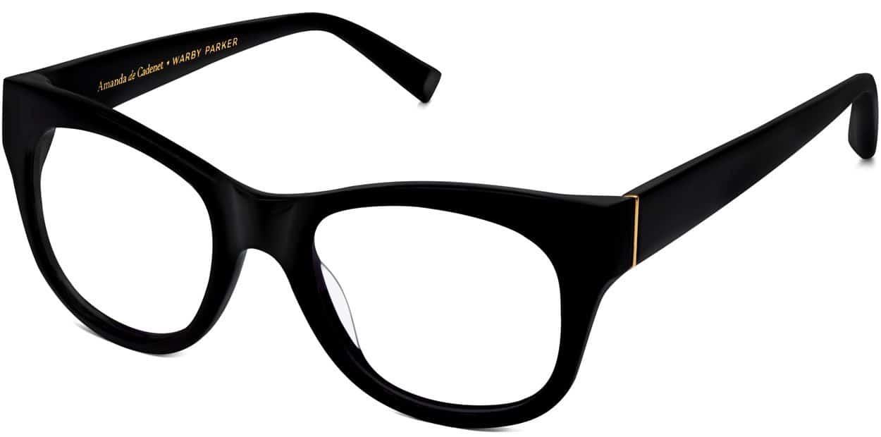 Ella Eyeglasses in Jet Black