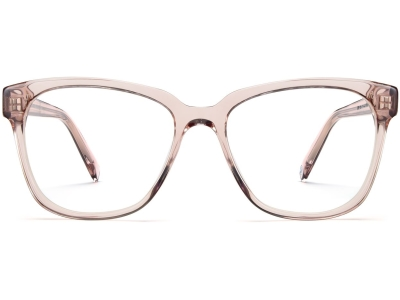 Front View Image of Francis Eyeglasses Collection, by Warby Parker Brand, in Rose Water Color