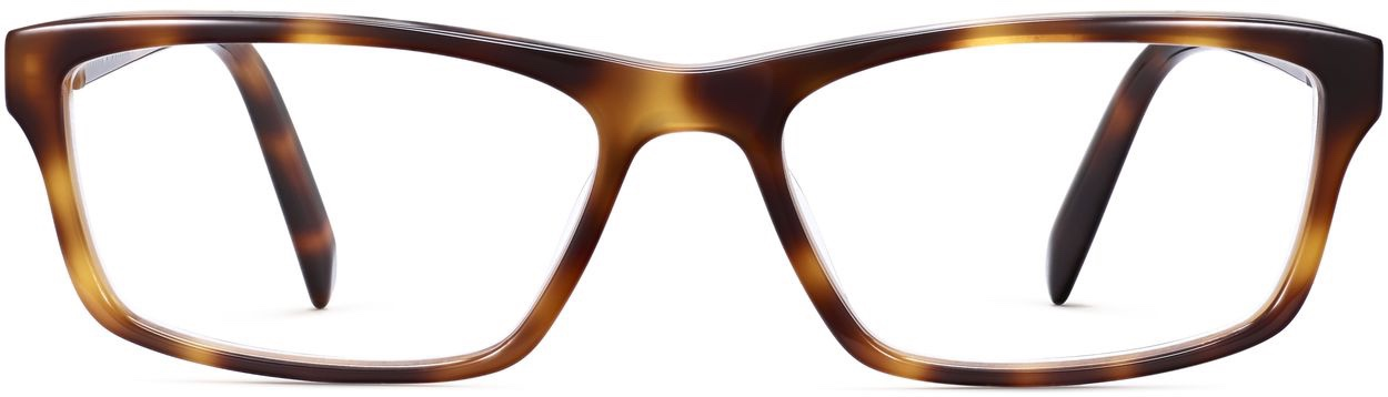 Front View Image of Godwin Eyeglasses Collection, by Warby Parker Brand, in Oak Barrel Color