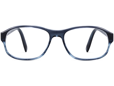 Front View Image of Bryson Eyeglasses Collection, by Warby Parker Brand, in Blue Slate Fade Color