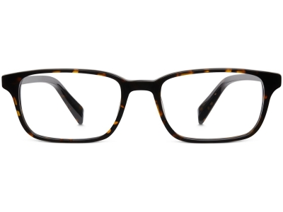 Front View Image of Wilkie Eyeglasses Collection, by Warby Parker Brand, in Whiskey Tortoise Color