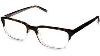 Angle View Image of Seymour Eyeglasses Collection, by Warby Parker Brand, in Tennessee Whiskey Color