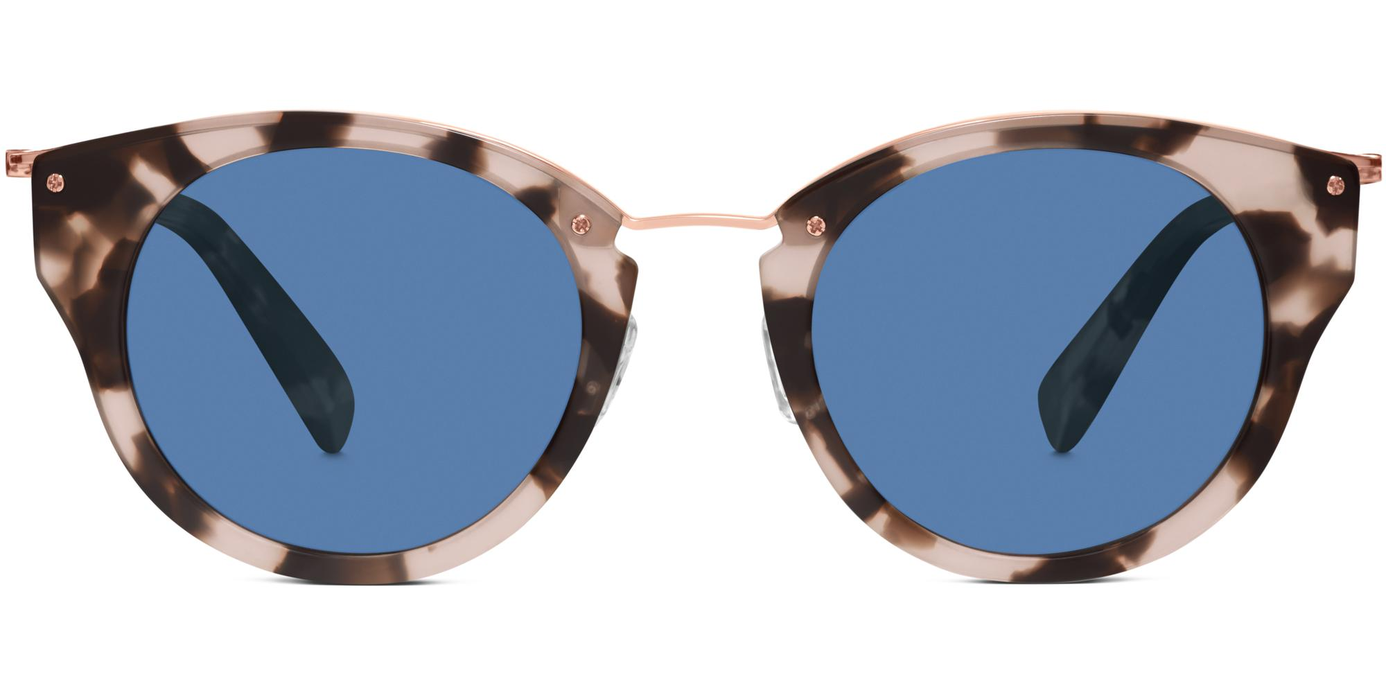 Hadley in Opal Tortoise with Rose Gold