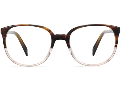 Front View Image of Eugene Eyeglasses Collection, by Warby Parker Brand, in Tea Rose Fade Color
