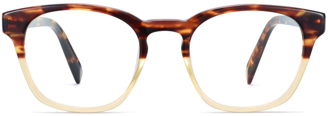 Front View View Image of Felix Eyeglasses Collection, by Warby Parker Brand, in Chamomile Fade Color