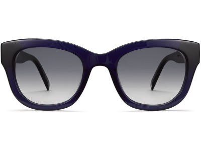 Front View Image of Gemma Sunglasses Collection, by Warby Parker Brand, in Lapis Crystal Color