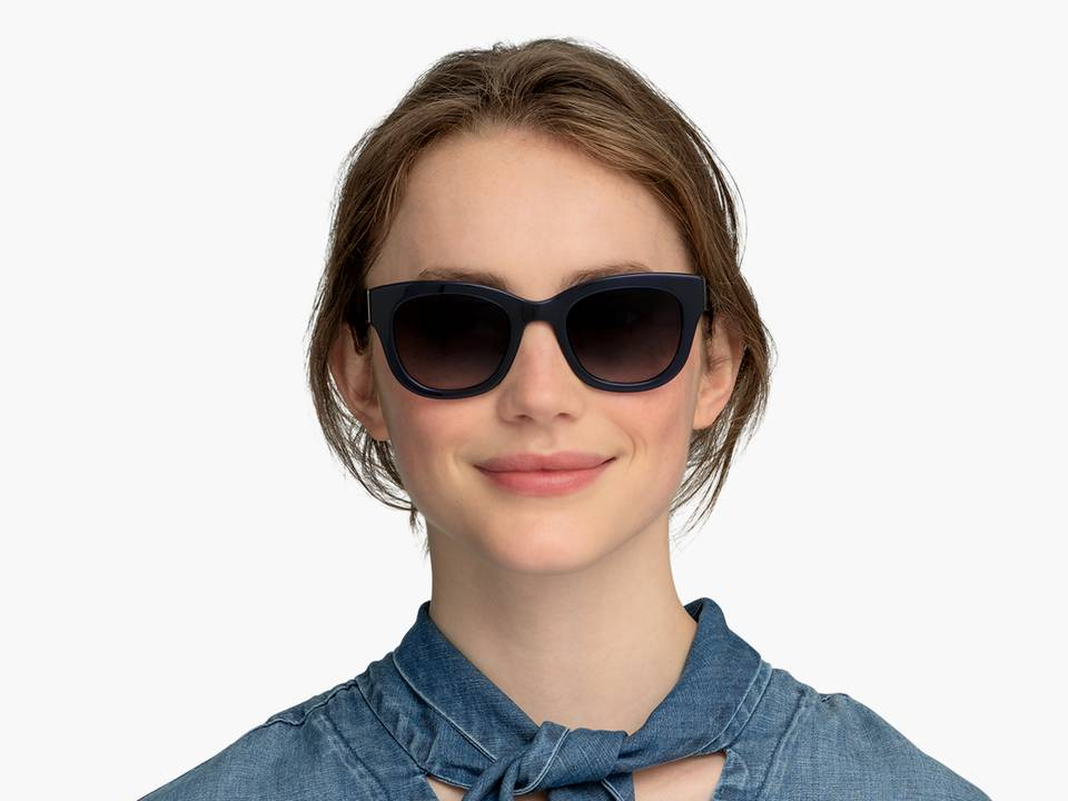 Gemma Sunglasses in Lapis Crystal