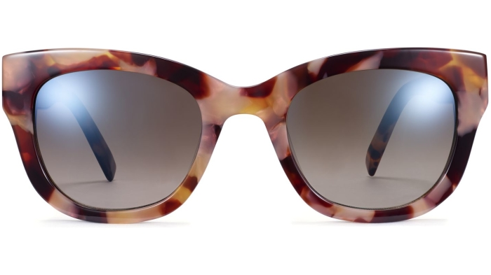 Front View Image of Gemma Sunglasses Collection, by Warby Parker Brand, in Adobe Tortoise Color