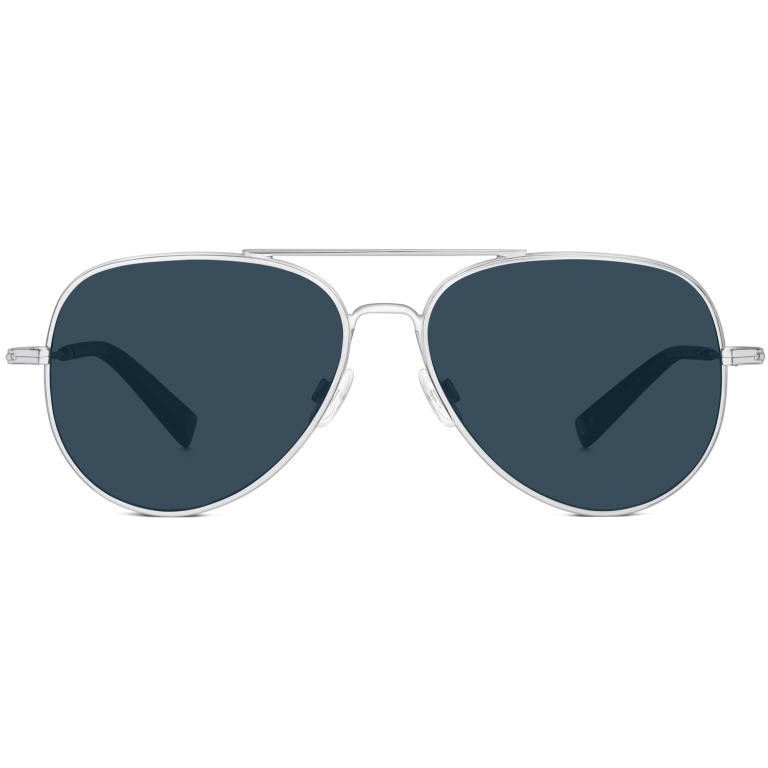 Raider Sunglasses in Polished Silver