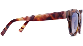 Side View Image of Gemma Sunglasses Collection, by Warby Parker Brand, in Adobe Tortoise Color