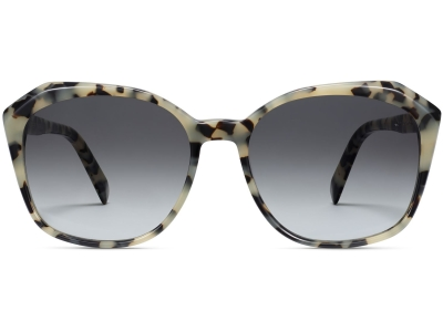 Front View Image of Nancy Sunglasses Collection, by Warby Parker Brand, in Onyx Tortoise Color