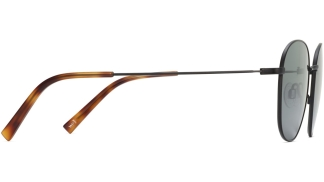 Side View Image of Cyrus Sunglasses Collection, by Warby Parker Brand, in Brushed Ink Color