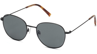 Angle View Image of Cyrus Sunglasses Collection, by Warby Parker Brand, in Brushed Ink Color