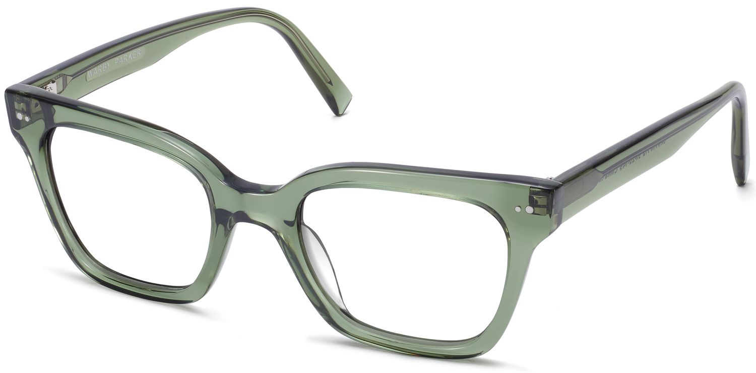Beale Eyeglasses in Rosemary Crystal