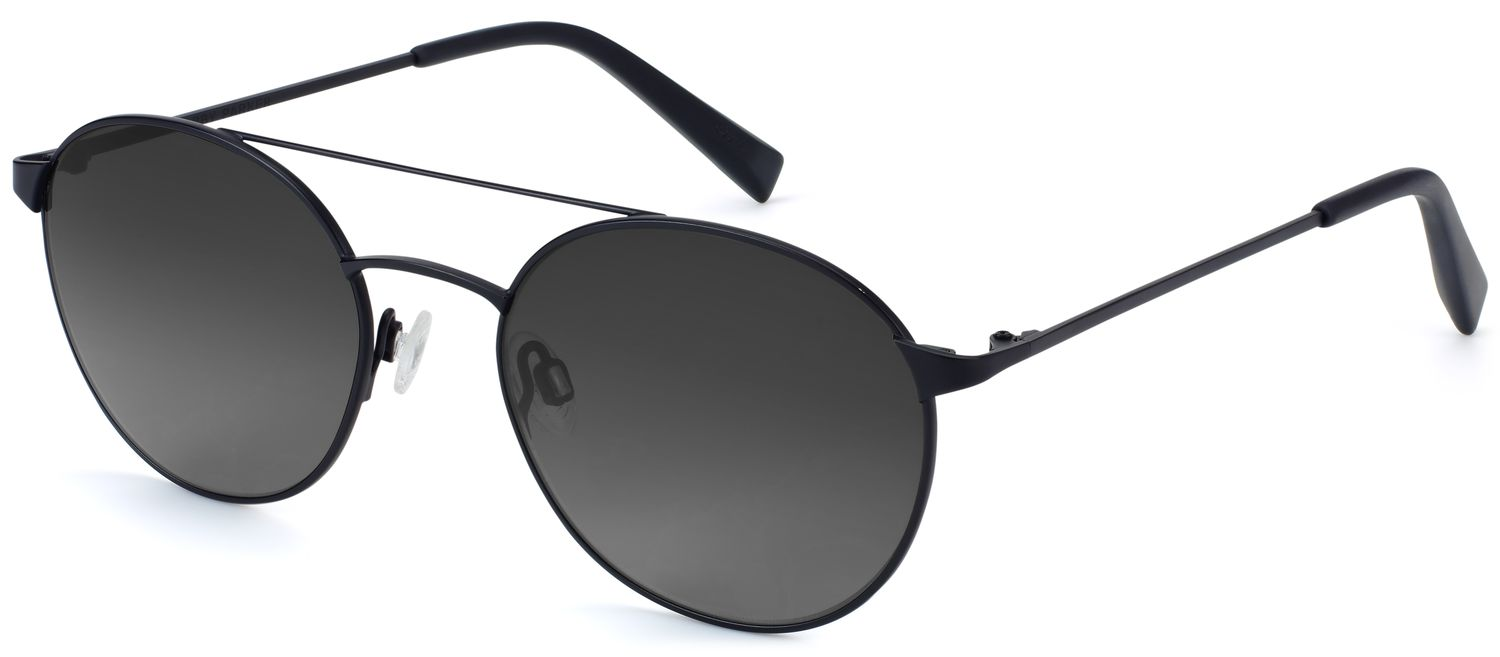 Angle View Image of Fisher Sunglasses Collection, by Warby Parker Brand, in Brushed Ink Color