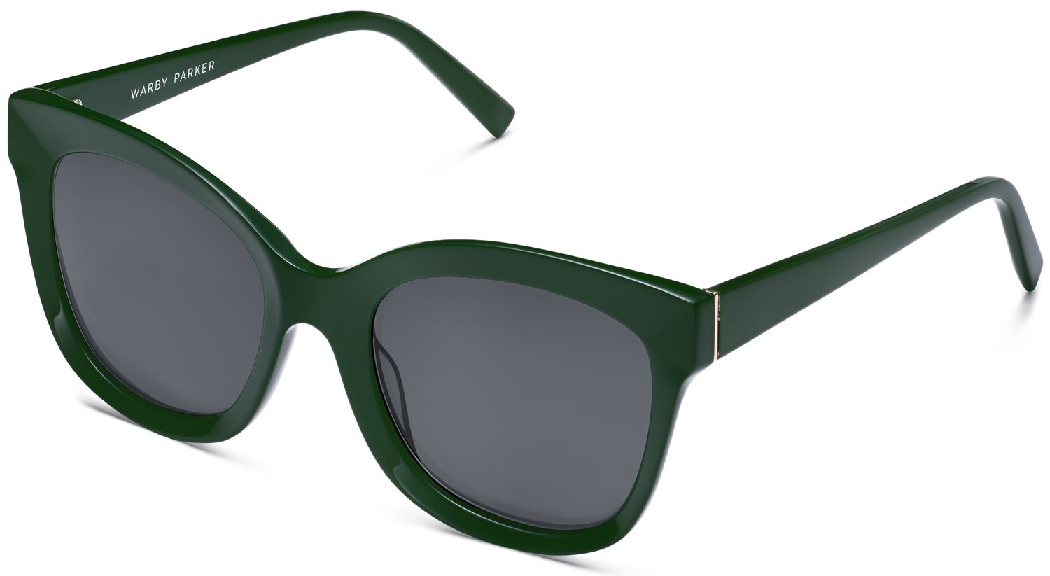 Angle View Image of Ada Sunglasses Collection, by Warby Parker Brand, in Forest Green Color