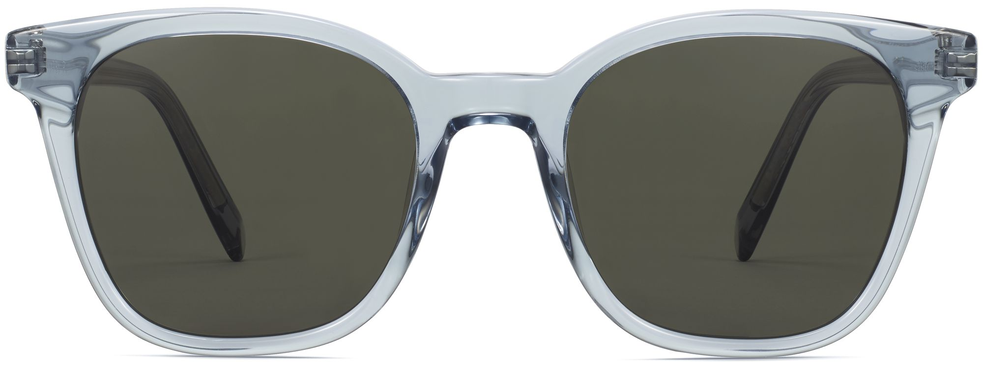 Front View Image of Griffin Sunglasses Collection, by Warby Parker Brand, in Pacific Crystal Color