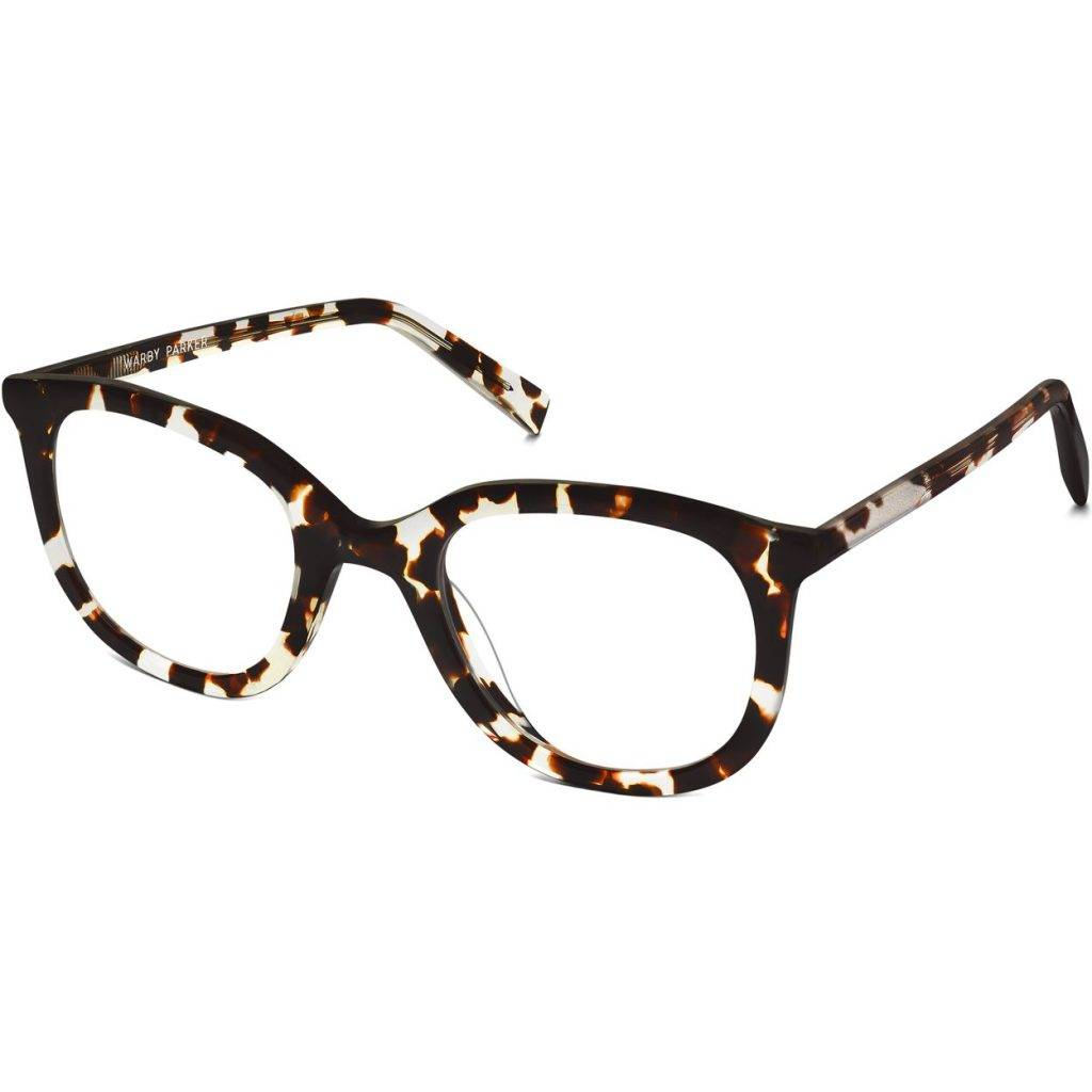 Laurel Eyeglasses in Espresso Tortoise