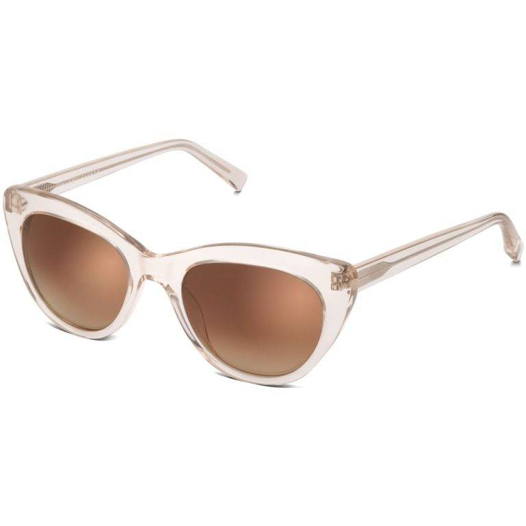 Tilley Sunglasses in Grapefruit Soda with Amber Gradient lenses