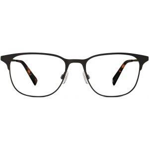 Front View Image of Campbell Eyeglasses Collection, by Warby Parker Brand, in Carbon Color