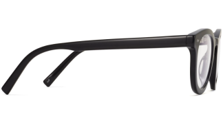 Side View Image of Ainsley Eyeglasses Collection, by Warby Parker Brand, in Jet Black Color