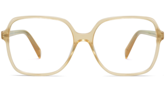 Front View Image of Alston Eyeglasses Collection, by Warby Parker Brand, in Champagne Color