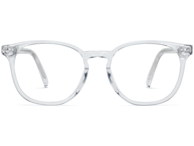 Front View Image of Carlton Eyeglasses Collection, by Warby Parker Brand, in Crystal Color