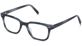 Angle View Image of Conley Eyeglasses Collection, by Warby Parker Brand, in Arctic Blue Color
