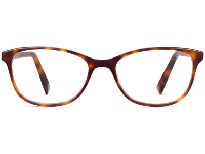 Front View Image of Daisy Eyeglasses Collection, by Warby Parker Brand, in Oak Barrel Color
