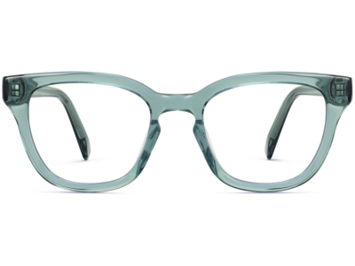 Front View Image of Della Eyeglasses Collection, by Warby Parker Brand, in Viridian Color