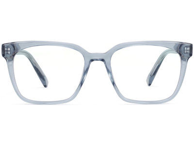 Front View Image of Hughes Eyeglasses Collection, by Warby Parker Brand, in Pacific Crystal Color