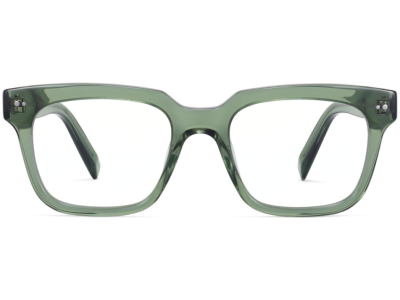 Front View Image of Winston Eyeglasses Collection, by Warby Parker Brand, in Rosemary Crystal Color