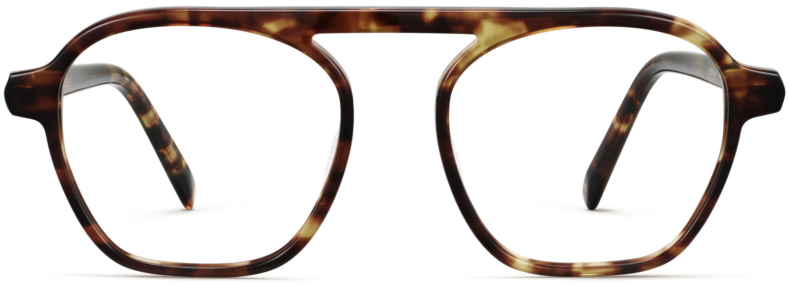 Front View Image of Dorian Eyeglasses Collection, by Warby Parker Brand, in Root Beer Color