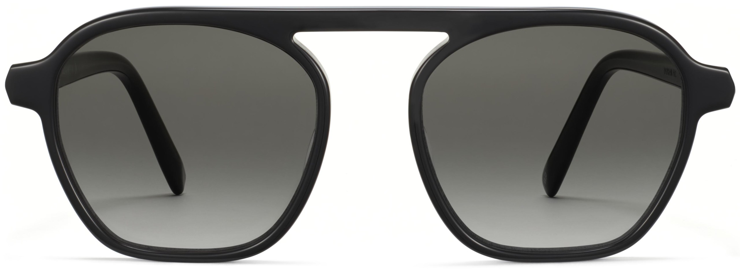 Front View Image of Dorian Sunglasses Collection, by Warby Parker Brand, in Ebone fog Eclipse Color