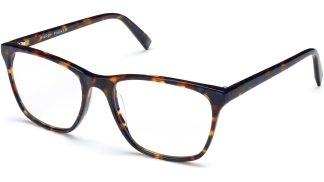 Angle View Image of Yardley Eyeglasses Collection, by Warby Parker Brand, in Blue Marbled Tortoise Color