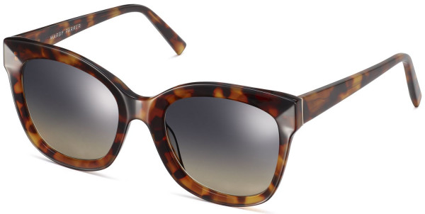 Angle View Image of Ada Sunglasses Collection, by Warby Parker Brand, in Acon Tortoise Color