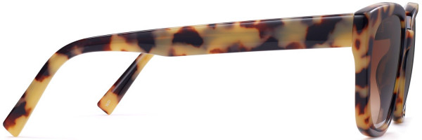 Side View Image of Aubrey Sunglasses Collection, by Warby Parker Brand, in Marzipan Tortoise Color