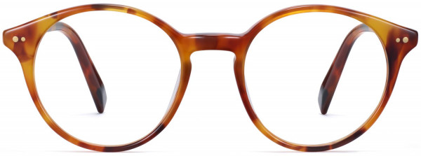 Front View Image of Morgan Eyeglasses Collection, by Warby Parker Brand, in Mesa Tortoise Color