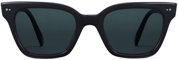 Front View Image of Beale Sunglasses Collection, by Warby Parker Brand, in Jet Black Color