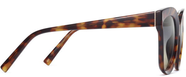 Side View Image of Ada Sunglasses Collection, by Warby Parker Brand, in Acon Tortoise Color