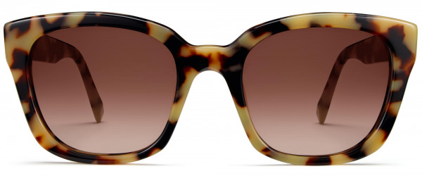 Front View Image of Aubrey Sunglasses Collection, by Warby Parker Brand, in Marzipan Tortoise Color