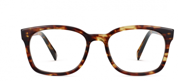 Front View Image of Berman Eyeglasses Collection, by Warby Parker Brand, in Root Beer Color