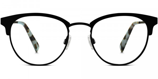 Front View Image of Blair Eyeglasses Collection, by Warby Parker Brand, in Black Ink Color