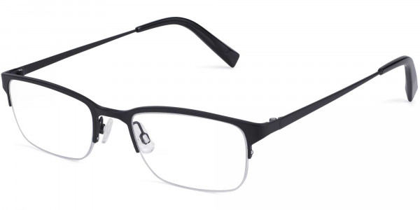 Angle View Image of Caldwell Eyeglasses Collection, by Warby Parker Brand, in Carbon Color