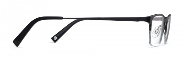 Side View Image of Caldwell Eyeglasses Collection, by Warby Parker Brand, in Carbon Color
