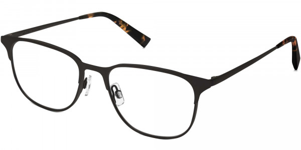 Angle View Image of Campbell Eyeglasses Collection, by Warby Parker Brand, in Carbon Color