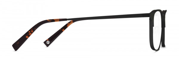 Side View Image of Campbell Eyeglasses Collection, by Warby Parker Brand, in Carbon Color